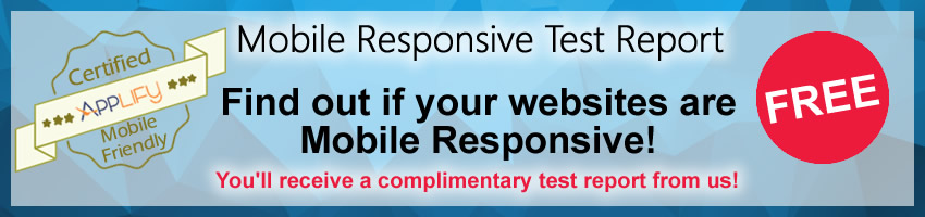 Mobile Responsive Test Report